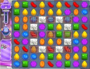 Candy Crush Monde des Songes - Niveau 412