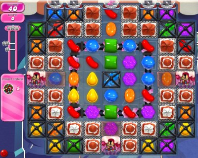 Candy Crush Saga - niveau 834