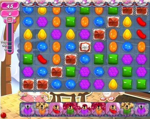 Candy Crush Saga niveau 827