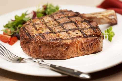 Medium Of Prime Rib Steak