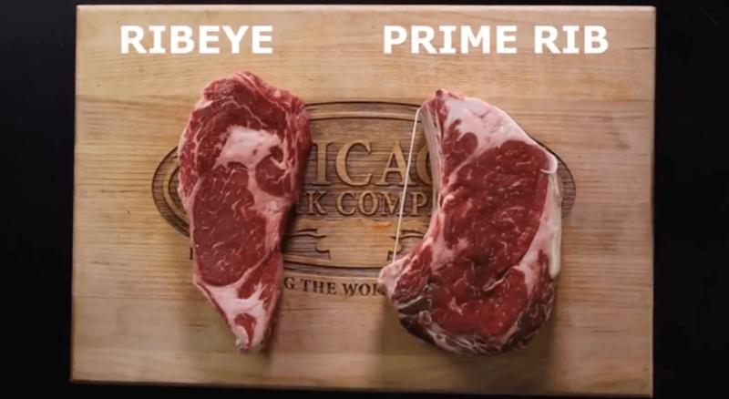 Large Of Prime Rib Steak