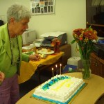 Borough Clerk Judy Crosswait retired this week after some 15 years of service.