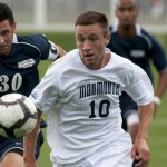 Former Naugatuck High and Monmouth University soccer All-American Ryan Kinne is starting in the midfield for the Pittsburgh Riverhounds, a USL PRO team in the United Soccer League. -MONMOUTH UNIVERSITY ATHLETICS DEPT