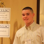 Prospect teenager William Flormann at the National Young Leaders State Conference in Wakefield, Mass. PHOTO CONTRIBUTED