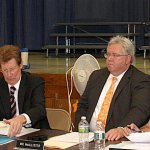 The Board of Education voted to approve a new roof for Maple Hill School.