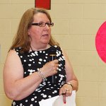 The Naugatuck Board of Education promoted Brigitte Crispino to assistant superintendent. FILE PHOTO