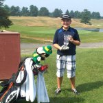 Ryan Warner, 13, of Beacon Falls won the Frank Kringle PGA Junior Championship in the 9 Hole Division held in Westfield, Mass. recently. Ryan shot a one over par 37 to earn his first championship win. CONTRIBUTED