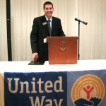 David Rotatori, the chief risk officer and corporate secretary at Naugatuck Savings Bank, is in his first year as campaign chairman for the United Way of Naugatuck and Beacon Falls. RA ARCHIVE