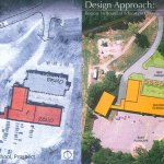 This design shows how Algonquin Elementary School in Prospect will be turned into district offices for Region 16. CONTRIBUTED
