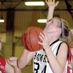 Heather Framski broke Woodland's school scoring record. FILE PHOTO