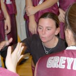 Naugatuck girls basketball coach Jodie Ruccio had some big shoes to fill when she took over for longtime coach Keith Raczkowski five seasons ago. Ruccio, a former New Jersey point guard, has met the challenge with a passion to succeed.  KEN MORSE