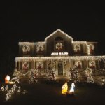 A house along Hopkins Hill Road in Naugatuck has lights choreographed to Trans-Siberian Orchestra songs and is modeled after an Ohio house that millions have watched on YouTube. People line up to see it every night during the Christmas season. -RA ARCHIVES