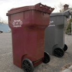 The borough will begin delivering about 1,950 96-gallon, garnet, single stream recycling barrels this week.