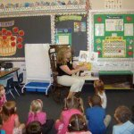 MaryEllen Marques reads to her class in August 2010. The longtime teacher died July 21 at age 51 of cancer. –CONTRIBUTED BY NANCY SASSO JANIS