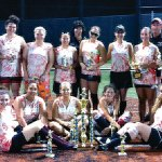 Naugatuck 1 won the Joan Joyce Women's Softball League championship for the third consecutive year. Pictured in front, from left, Alessandra DiMaria, Sydney Cotto, Theresa Marcelynas, Jackie Aronin, Lianne Wallace. Standing, from left, coach Mike DiMaria, Jess Aronin, Gillian Fortier, Taya Diaz, coach Leigh Aronin, Sarah Chandler, Shannon Hale, Carli Pelliccia (MVP), manager Rick Pelliccia, Madison Jenson. Not pictured, Sara Marques, Sam Bombardier.-CONTRIBUTED