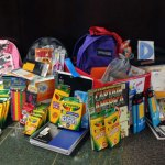 Naugatuck Valley Savings and Loan is collecting school supplies for children in need through Aug. 31. Donations, like the ones pictured above, can be dropped off at any of the bank's locations. –CONTRIBUTED
