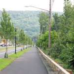 Beacon Falls will hold a ribbon cutting ceremony for the new streetscape downtown Sunday afternoon as part of the events planned for a bike ride from Torrington to Derby on Sunday to showcase the Naugatuck River Greenway. –FILE PHOTO