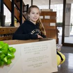 Elizabeth Saddig, 11, a sixth-grade student at Hillside Intermediate School in Naugatuck, has come up with Books for Sandy Hook, to collect new and lightly used books for Sandy Hook students. Saddig has a box for collections at Naugatuck Town Hall as well as Big Y Supermarket in Naugatuck. –RA ARCHIVE