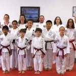 Sokol's Taekwondo in Naugatuck held a rank testing Oct. 26, 2013. Valerie Fortney, Andrew Khairallah, Samantha Figueroa and Stunami Figueroa were promoted to first degree black belts. -CONTRIBUTED
