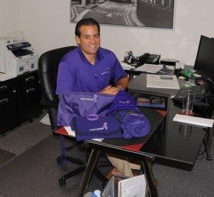 Project Purple Chairman Dino Verrelli of Beacon Falls. –FILE PHOTO