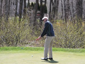 This season was the last for Craig Blanchard as head coach of the Naugatuck golf team. Blanchard has led Naugy on the links for 22 years. –FILE PHOTO