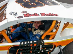Prospect resident Nick Salva, 22, is making a name for himself in the Stafford Motor Speedway's SK Lights division with the help of his uncle and former racer Bo Gunning. –CONTRIBUTED