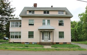The town-owned property at 35 Wolfe Ave. in Beacon Falls. The Library Board of Trustees has requested a building committee be formed for a joint library/community center to be built at the property. –LUKE MARSHALL