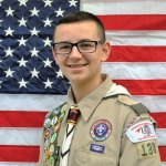 Beacon Falls resident Aidan Shea, of Naugatuck's Troop 138, was awarded his Eagle Scout rank on Sept. 25. For his Eagle Scout project, Shea offered residents of Beacon Falls new or replacement house numbers to help first responders more easily find the correct residence when responding to an emergency. –CONTRIBUTED