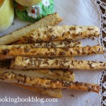 Солени пръчици (соленки) с кимион