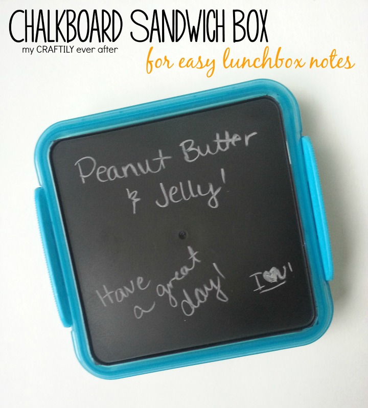 chalkboard sandwich box for easy lunchbox notes