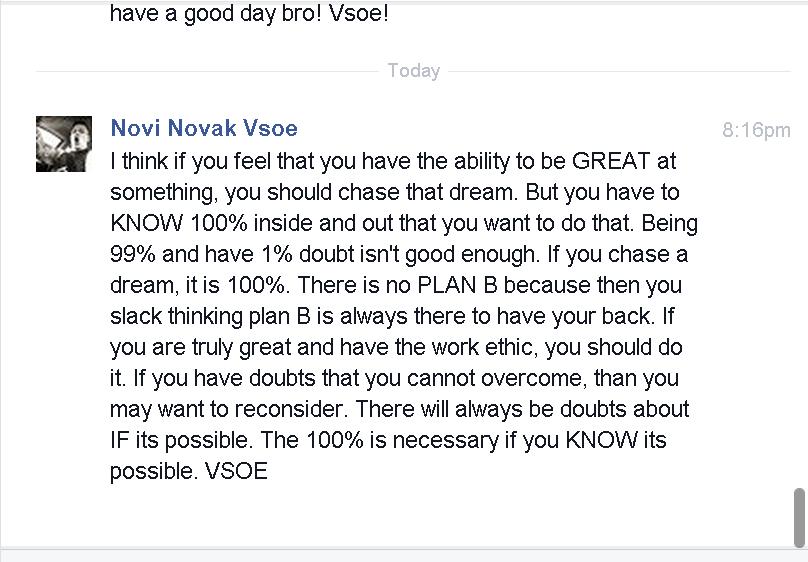Inspiring Post I made