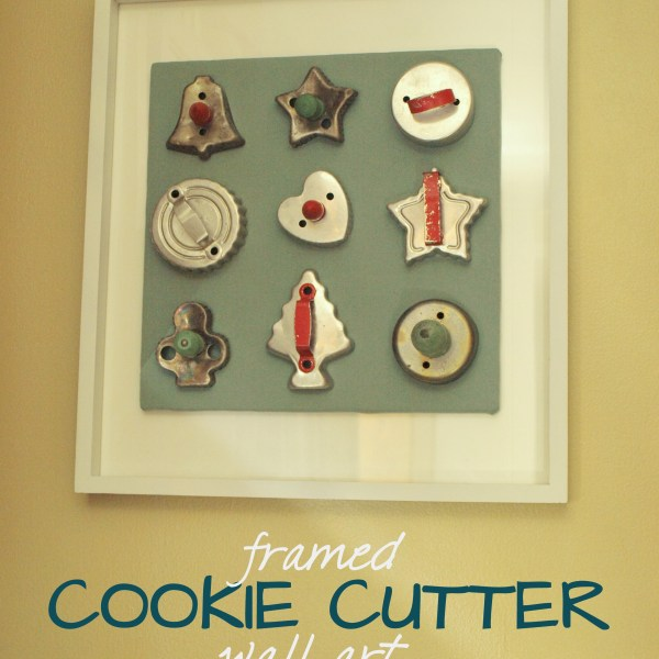 FRAMED COOKIE CUTTERS