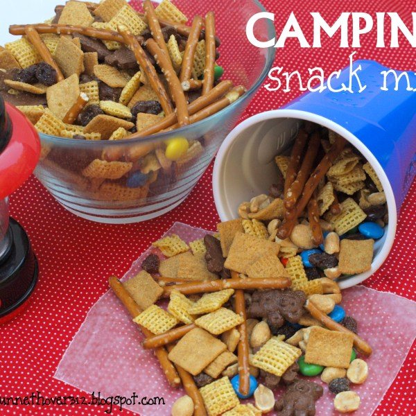 CAMPING SNACK MIX and FREE CAMPING CHECKLIST