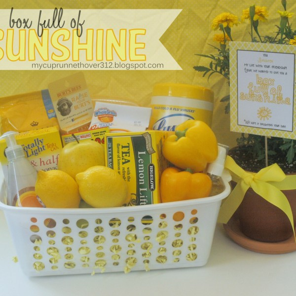 BOX FULL OF SUNSHINE GIFT