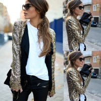 Get the Look: Pailletten-Blazer an Biker-Style - hot, hotter, hottest...