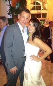 Mr. and Mrs. Zeev Weissman. It's good to be in love.