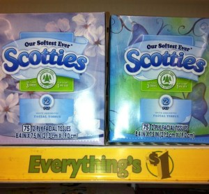 ScreenHunter 43 Sep. 18 17.25 300x278 Scotties Tissues ~ $0.50 Each at Dollar Tree
