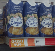 international Family Dollar: International Delight Creamer = Free