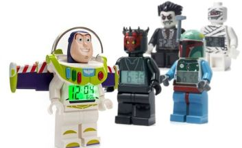 alarm LEGO Mini Figure Alarm Clocks Only $11.99!