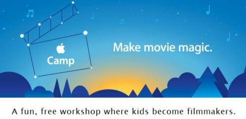 apple camp Apple iMovie Camp: FREE Workshop for Kids