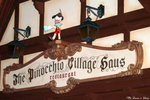 Magic Kingdom's Pinocchio Village Haus Quick Service