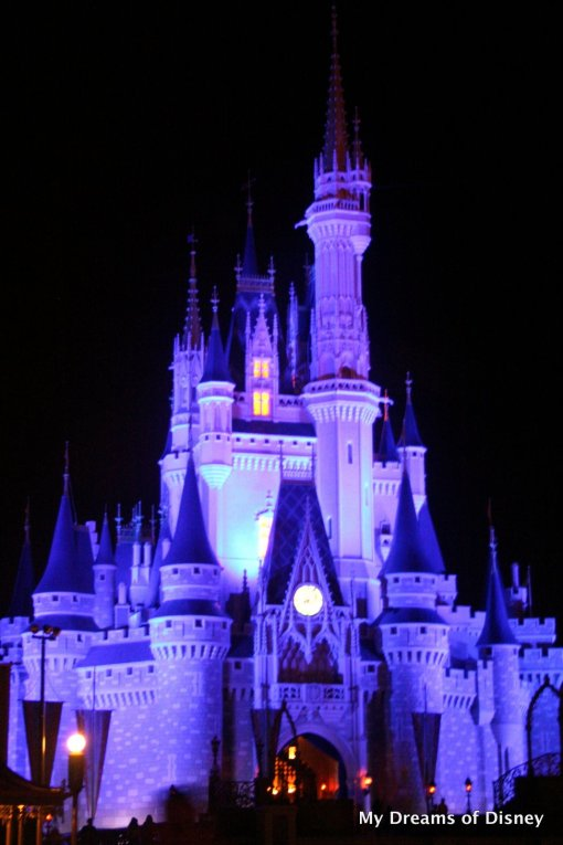 Cinderella Castle at Night!