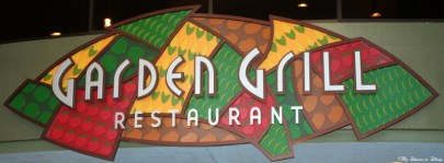 Garden Grill Restaurant, The Land, Epcot Future World