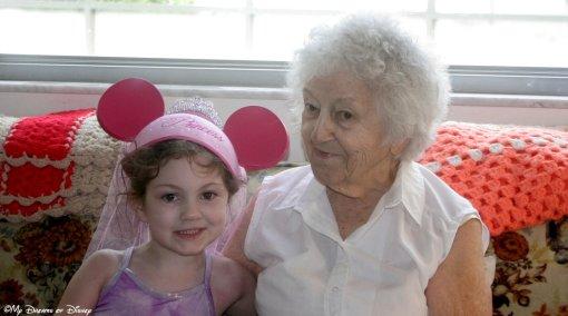 Grandma and Sophie, 2006