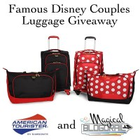 Horace Horsecollar and Clarabelle Cow - My Famous Disney Couple and an {American Tourister Giveaway}!