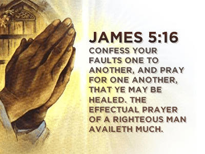 Prayers for the Week - James 5:16