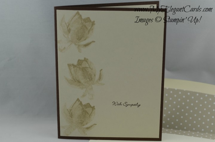 Stampin' Up! Lotus Blossom
