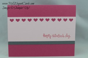 Stampin' Up! Hearts Border punch
