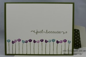 Stampin' Up! Painted Petals and A Dozen Thoughts