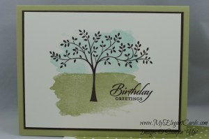 Stampin' Up! Perpetual Birthday Calendar, Wetlands, Thoughts & Prayers